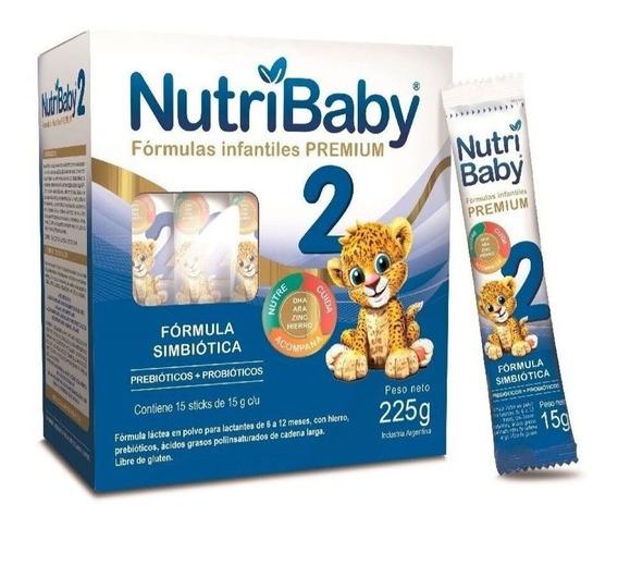 Leche de fórmula en polvo Ethical Pharma NutriBaby 2 por 15 unidades de 15g