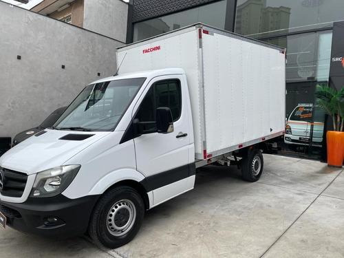 Imagem 1 de 14 de Sprinter 2018 Baú- Completa- Camionete C/ Ind. De Serviço