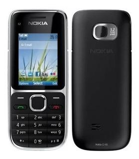 Kit Com 2 Aparelhos Celular Nokia C2 01 3g Desbloqueado