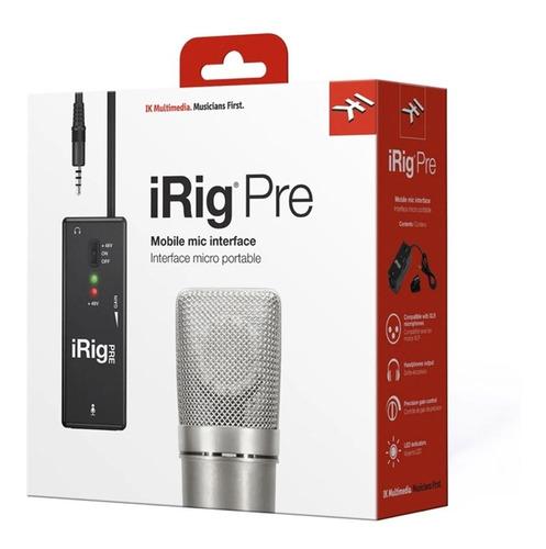 Interface Ik Multmedia Irig Pre Para Microfone