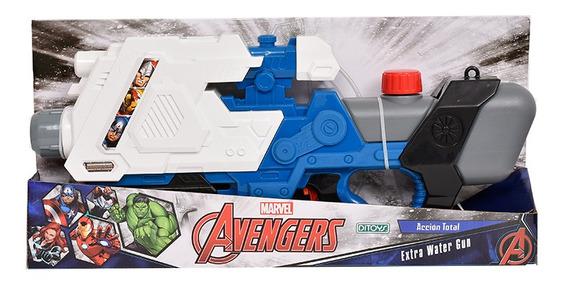 Avengers Extra Pistola De Agua Water Gun Ditoys
