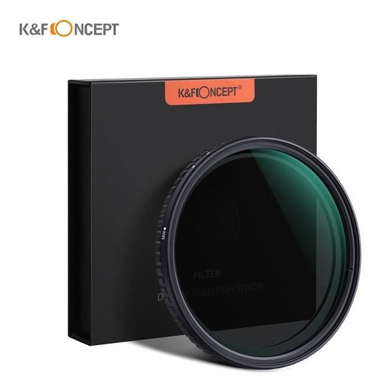 K & F Conceito 72mm Extremista Fino Ajustável Neutro Variáve