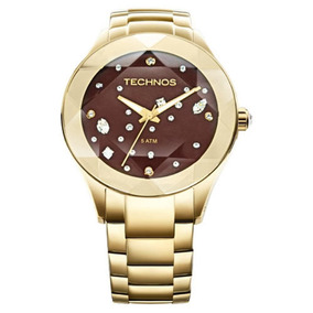 Relógio Technos Feminino Elegance Crystal 2039at/4m L3