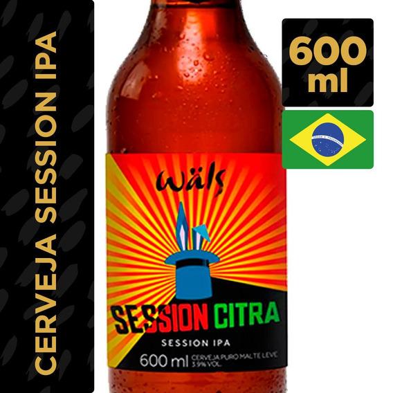 Cerveja Wals Session Sabor Citrus Garrafa 600ml