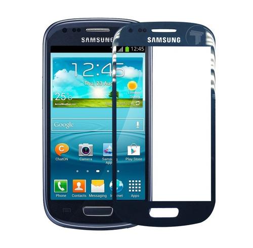 Mica Vidrio Teléfono Samsung Galaxy S3 Mini Azul