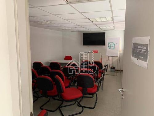 Loja Para Alugar, 150 M² Por R$ 12.900,00/mês - Centro - Niterói/rj - Lo0132