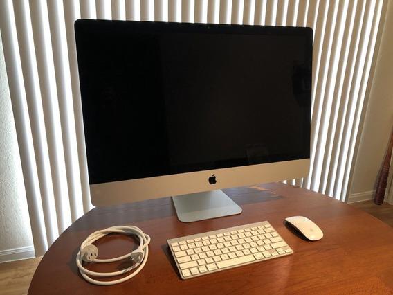 iMac 27 2014 5k 4ghz 32gb Ram 4gb Video 3tb Sshd Lindo