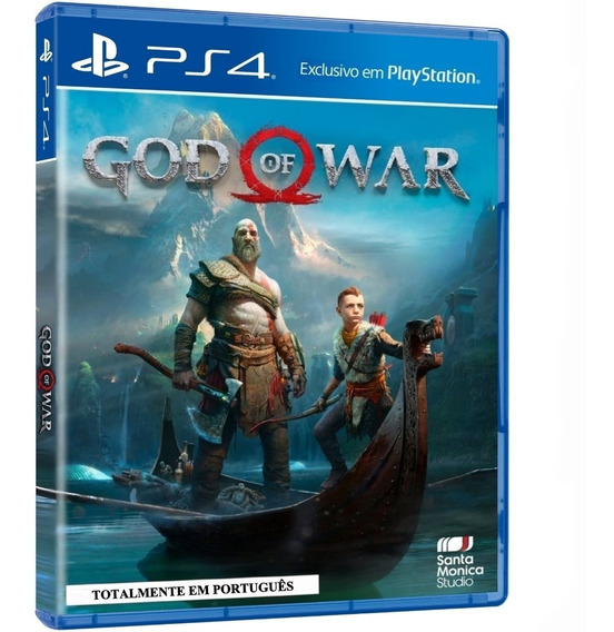 God Of War Ps4 Midia Fisica Lacrado Totalmente Pt-br + Nf