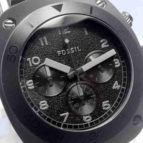 Relógio Fossil Black Ion-plated Stainless Steel Fch2777