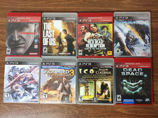 Lote Juegos Fisicos Ps3. Last Of Us, Uncharted. Impecables