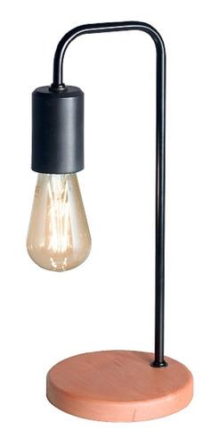 Lámpara De Mesa Escritorio Velador Vintage