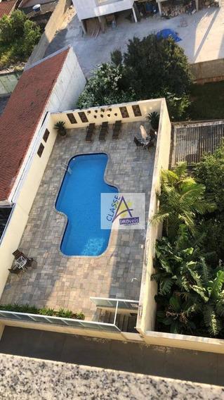 Apartamento Com 3 Dormitórios À Venda, 93 M² Por R$ 599.000 - Parque Bandeirante - Santo André/sp - Ap0430