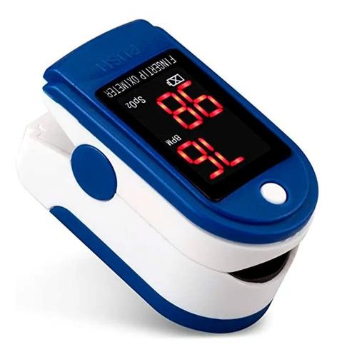 Imagen 1 de 8 de Oximetro De Pulso Medico Saturometro Medición Oxigeno