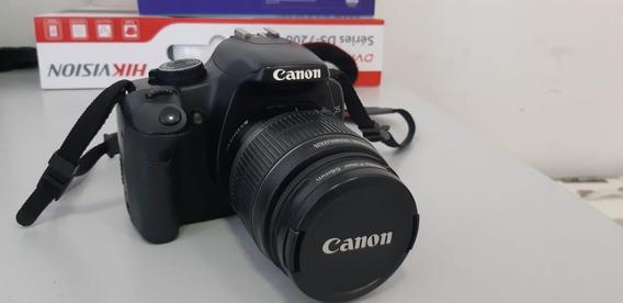 Câmera Digital Canon Rebel Eos Xsi - Kit Com Vários Itens