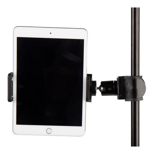 Imagen 1 de 4 de Csa Soporte De Tablet / iPad Con Clamp Para Pie De Micrófono