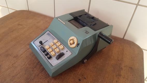 Calculadora A Manivela Olivetti Summa Prima 20 - Funcionando