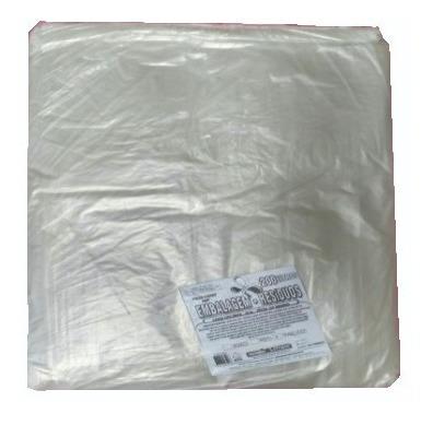 Leiraw Saco Plástico Transparente Tipo Único 200 Litros