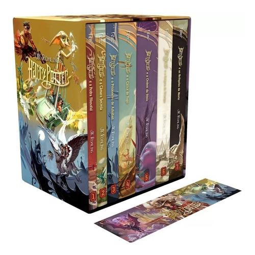 Box Harry Potter Edição Tradicional 7 Livros- Série Completa