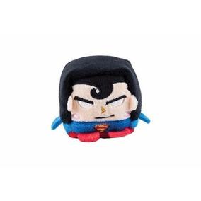Brinquedo Pelúcia Cubo Mania Superman - Candide - 6cm X 6cm