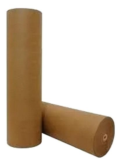 Papel Semi Kraft Pardo Rolo 1 Bobina 60cm + 1 Bobina 45 Cm