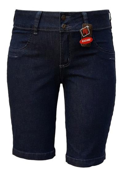 Bermuda Jeans Feminina Ciclista Plus Size Tamanhos 38 Ao 60