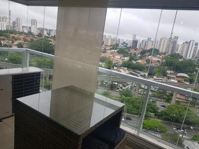 Apartamento Em Brooklin, São Paulo/sp De 48m² 1 Quartos Para Locação R$ 3.700,00/mes - Ap180449
