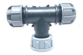 Cople Conector Manguera De Riego En T 20mm