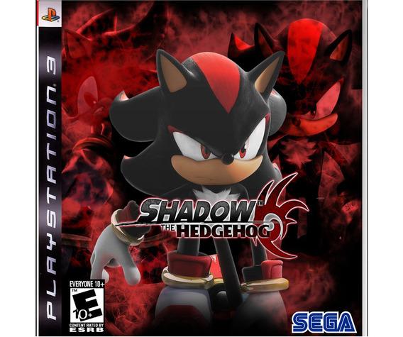 Jogo Ps3 Shadow The Hedgehog Midia Digital Psn Envio Rapido