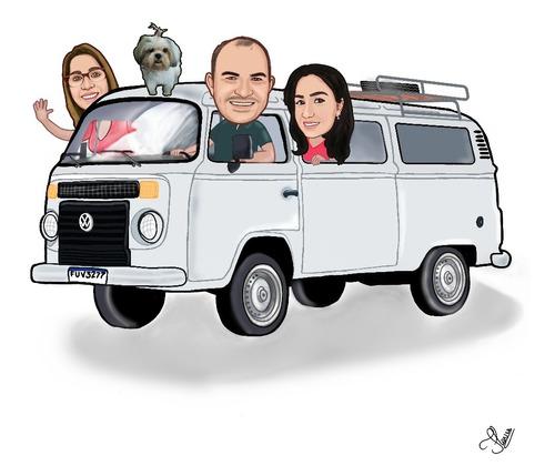 Caricatura Digital Personaliza