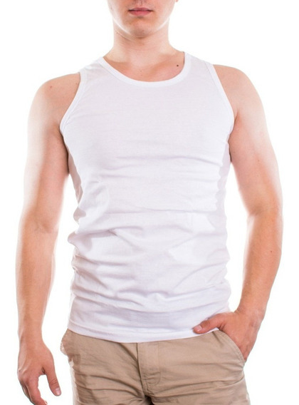 Camiseta Unitalla Algodon Hombre 4 Piezas Envio Gratis