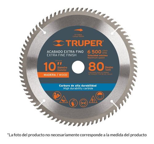 Sierra Circular Truper P/madera 10  80 Dientes