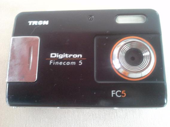 Câmera Maquina Fotografica Digital Digitron Finecam 5 Cod 48