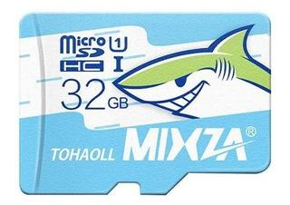 Cartão Memória 32gb Mixza Original 80m/s Classe 10