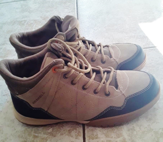 Zapatillas Merrell Faisan Mujer 38 - Como Nuevas / Sin Uso