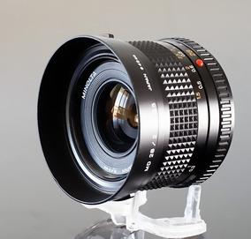 Lente Minolta Md 28mm F 2.8 -sony-fuji-canon-micro 4\3