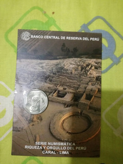 Moneda De Coleccion Caral Riqueza Y Orgullo Peruano