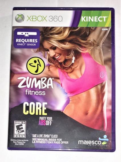 Zumba Fitness Core Original Completo Xbox 360 Cr $15