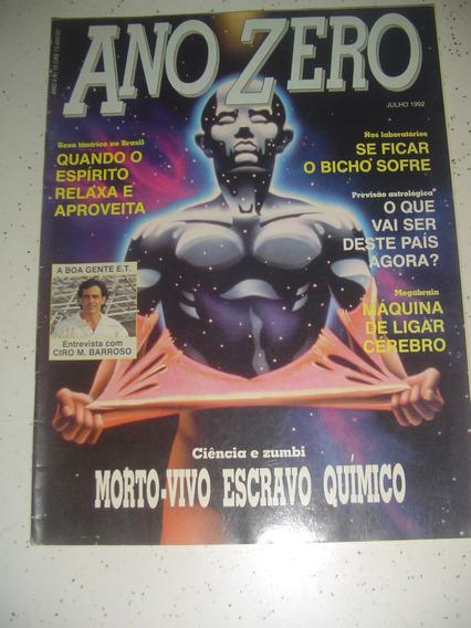 Revista Ano Zero 15 Megabrain Zumbi Astrologia 1992 Bruxas