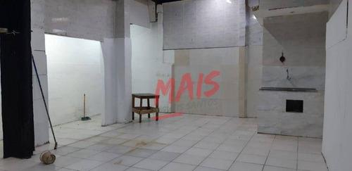 Imagem 1 de 16 de Loja Para Alugar, 205 M² - Macuco - Santos/sp - Lo0029