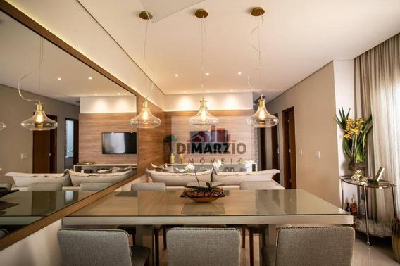 Casa Com 3 Dormitórios À Venda, 97 M² Por R$ 448.000 - Jardim Boer Ii - Americana/sp - Ca1126