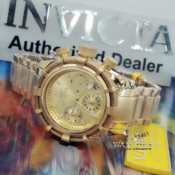Relógio Invicta 12461 Dourado Ouro 18k Feminino *** Bolt