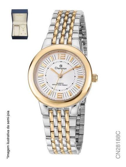 Kit Relógio Champion Feminino Misto Cn28188c