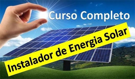 Curso De Energia Solar + Brindes Ms Project + Curso Excel