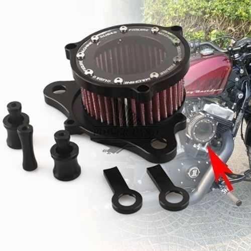 Harley Davidson Filtro De Ar Liso - Sportster 883 / 1200