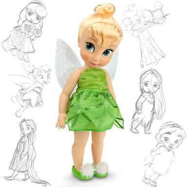 Boneca Animators Collection Original - Tinker Bell/ Sininho