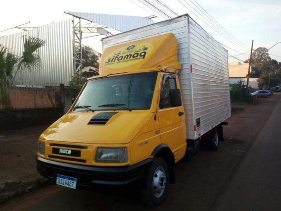 Caminhão Bau Iveco 3510 Rodado Duplo - Baixo Valor