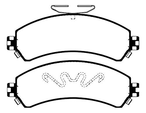 Pastilla Freno Chevrolet S10 4x4/blazer
