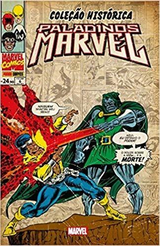 Coleção Histórica Paladinos Marvel Nº 06 Editora Panini Novo