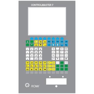Teclado De Membrana Romi Controlmaster 7 550 X 300mm