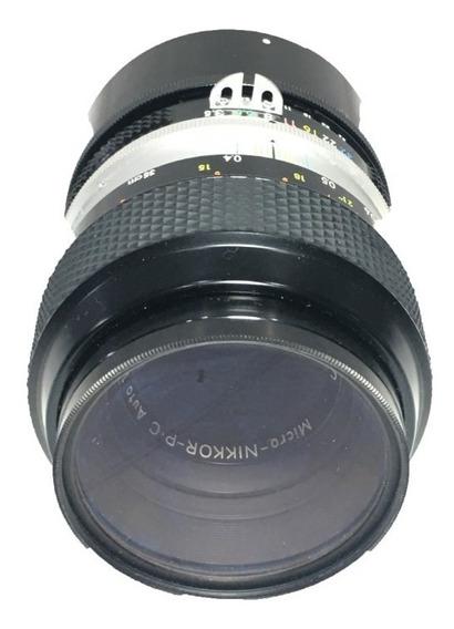 Lente Nikon Micro Nikkor-p 55 Mm F / 3.5 Pk-13